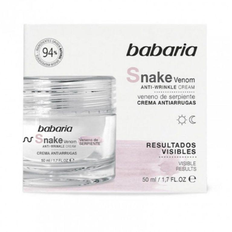Babaria Creme Facial Anti Rugas Veneno de Serpente 50ml