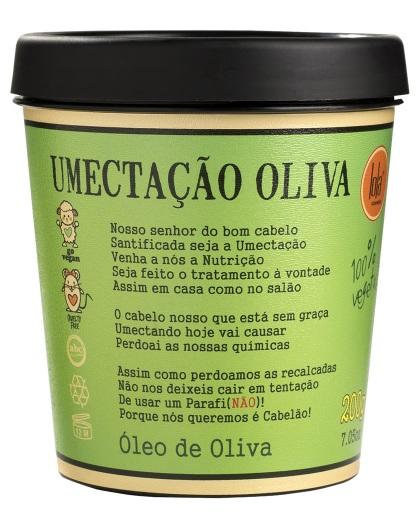 Lola Máscara de Umectação Oliva 200g