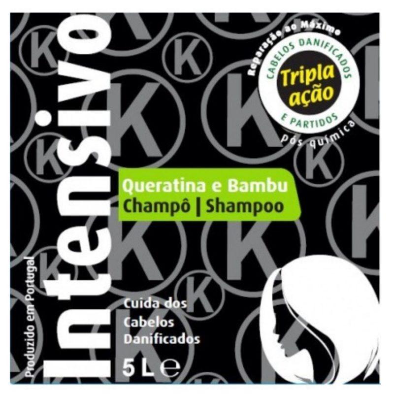 Real Natura Shampoo Queratina e Bambu 5L