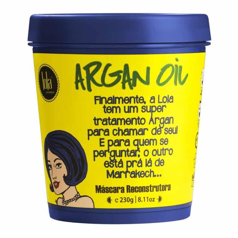 argan oil máscara 9201