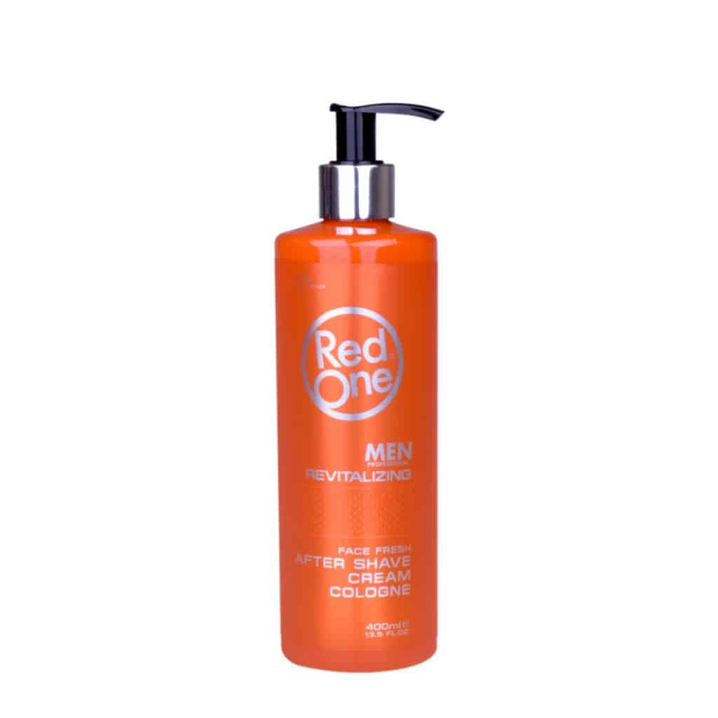 red one men revitalizing after shave cream cologne 400 ml