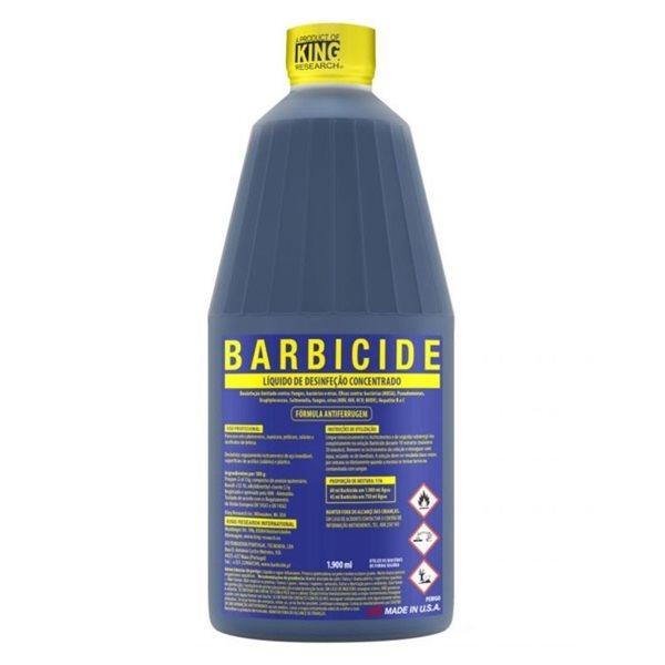 0028546 barbicide liquido de desinfecao concentrado 1900ml 600
