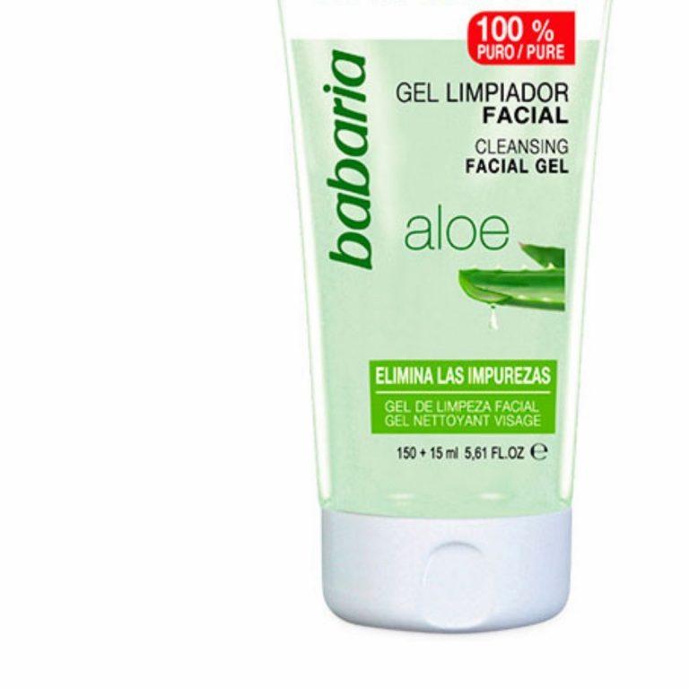 Babaria Gel de Limpeza Facial Aloe Vera 150ml