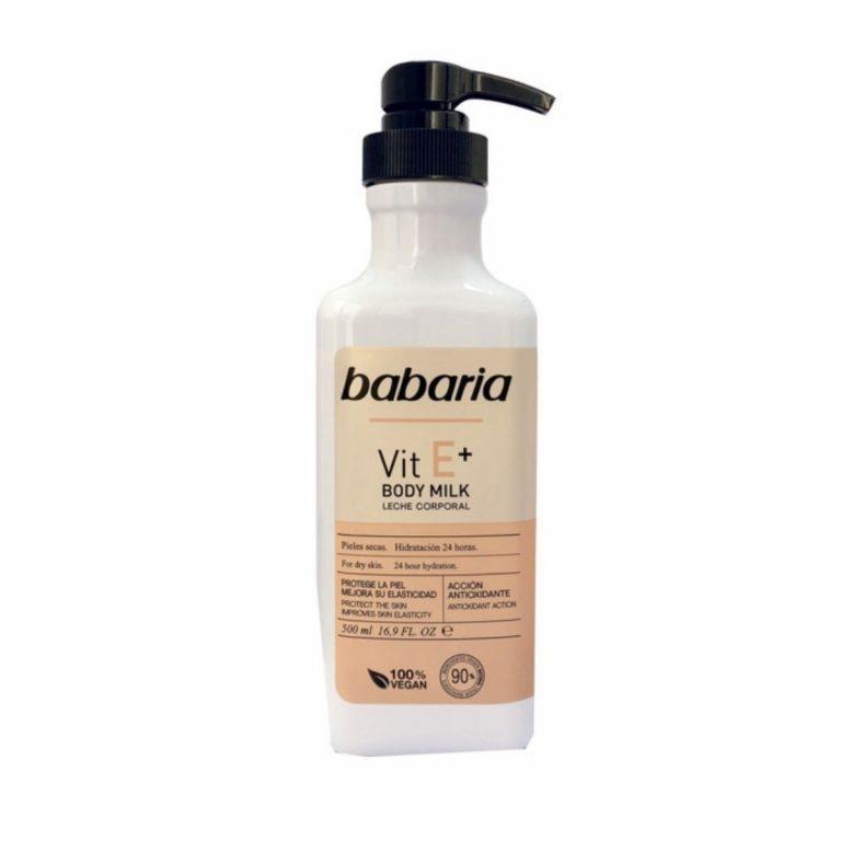 Babaria Leite Corporal Vitamina E+ 500ml