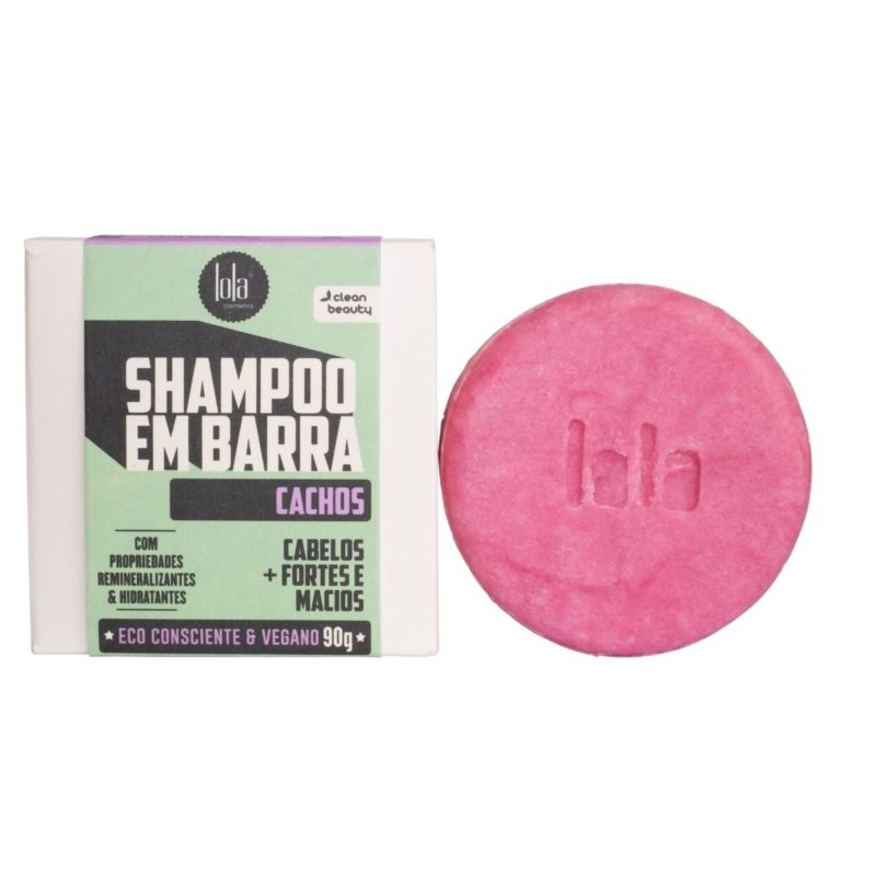 Lola shampoo em barra