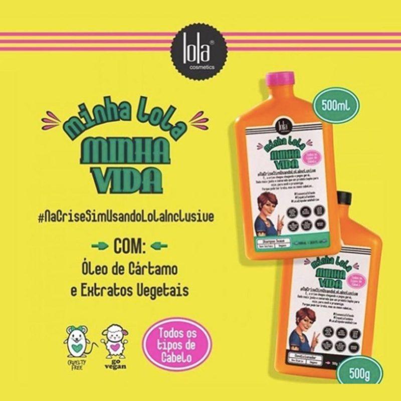 Shampoo Minha Lola Minha Vida 500 ml