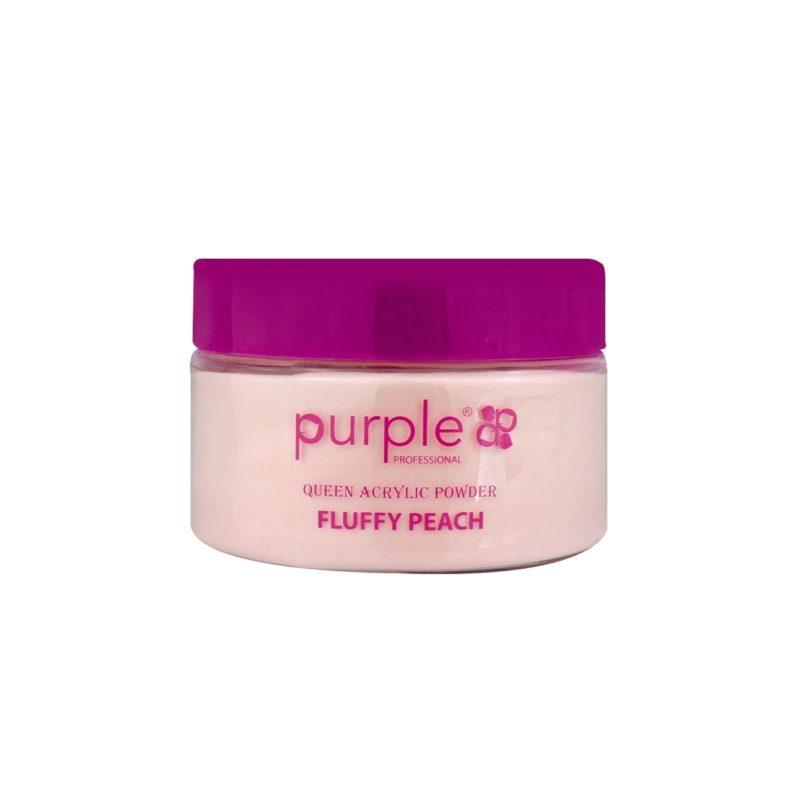 Purple Queen Pó Acrílico Fluffy Peach 50g